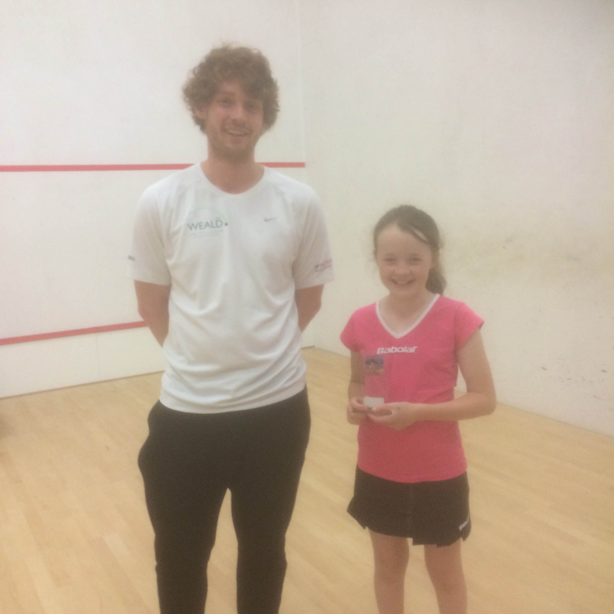 Girls winner - Rosie Lynch