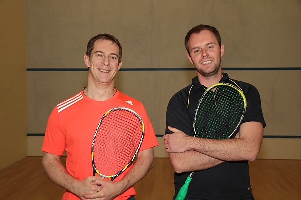 Mark Wheeler and Jon Liles - Men's finalists