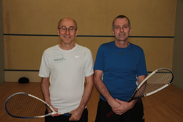 Dave Jump and Mark Pearson - Veterans' finalists